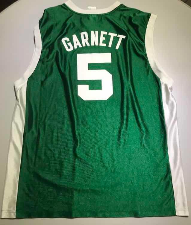 official photos a2238 93e35 Jersey Nba Retro Boston Celtics Garnett Xl 153 - $ 500.00