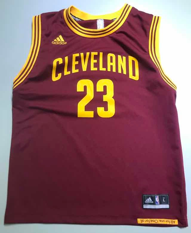 new styles 5a12c f3222 Jersey Nba Retro Cleveland Cavs James L Boys 127