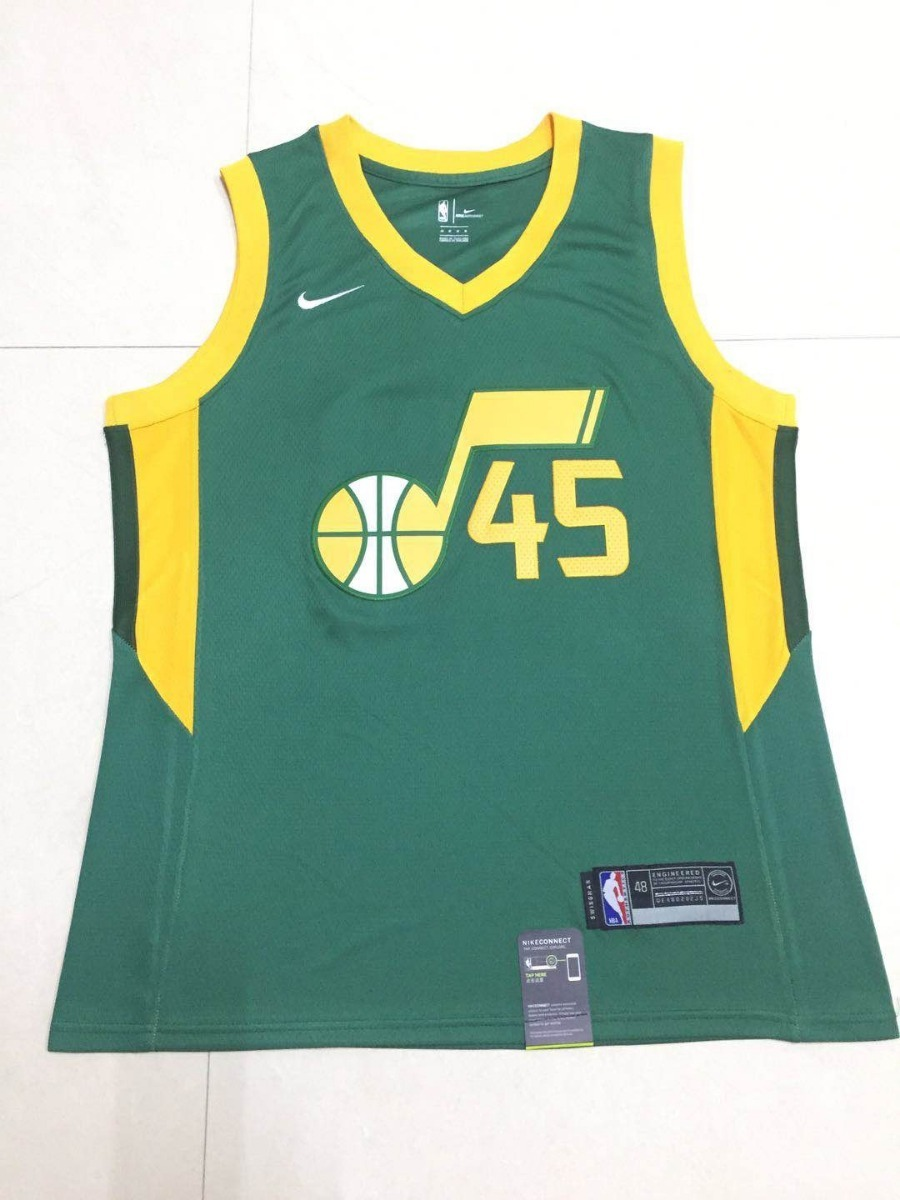 innovative design 69936 19169 Jersey Nba Utah Jazz Authentic Nike Connection
