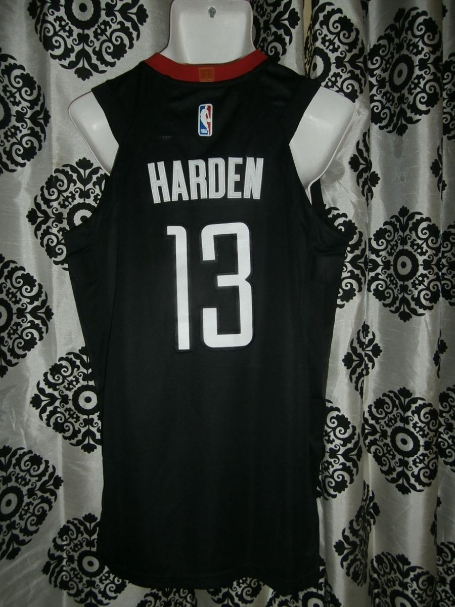 e6f148cb0ba Jersey Negra Nba Houston Rockets James Harden -   980.00 en Mercado ...