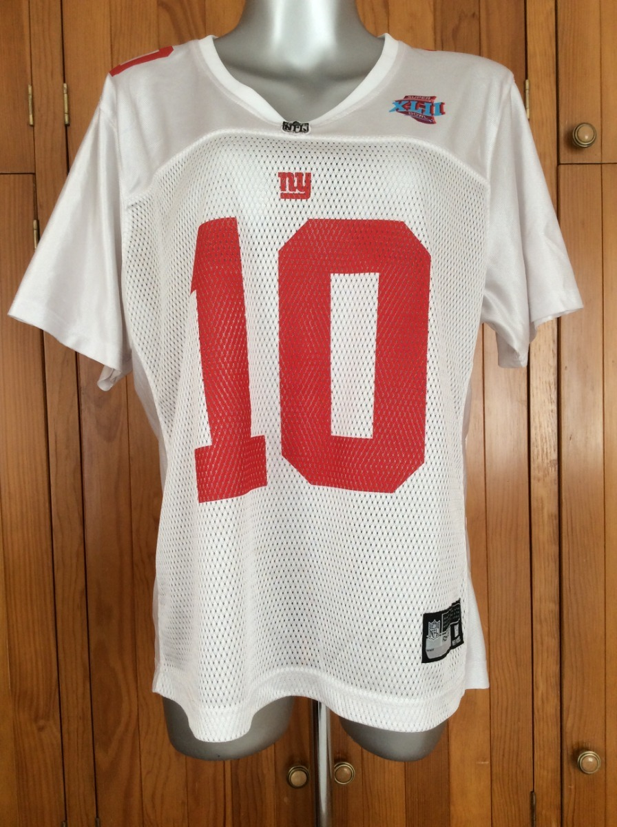 reputable site 53353 6499d Jersey New York Giants Mujer Manning 10 Super Bowl 42 Reebok - $ 349.00