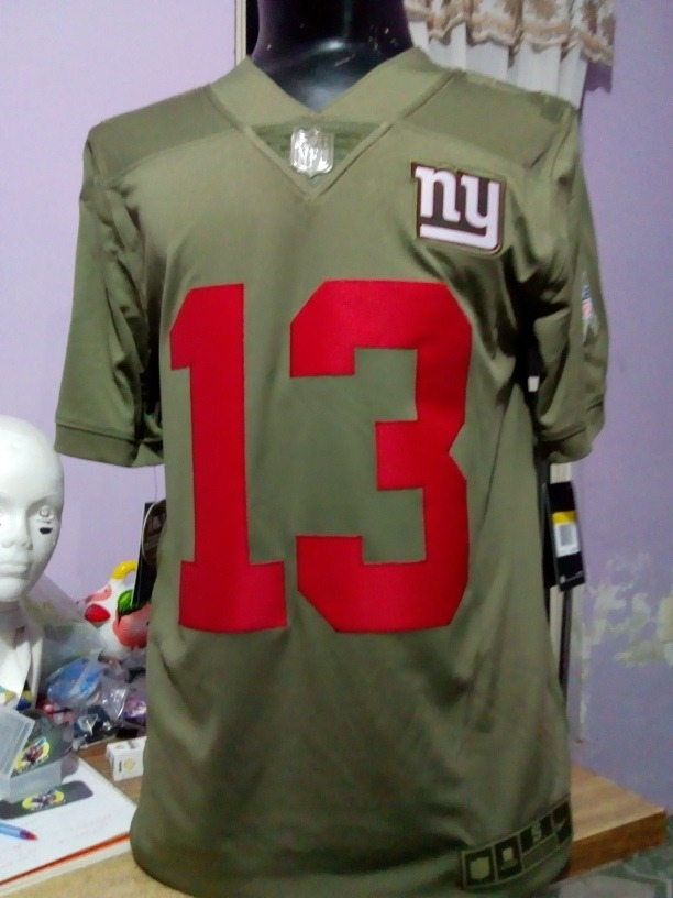 wholesale dealer 44a0d 322d0 Jersey New York Giants Salute To Service Objr13