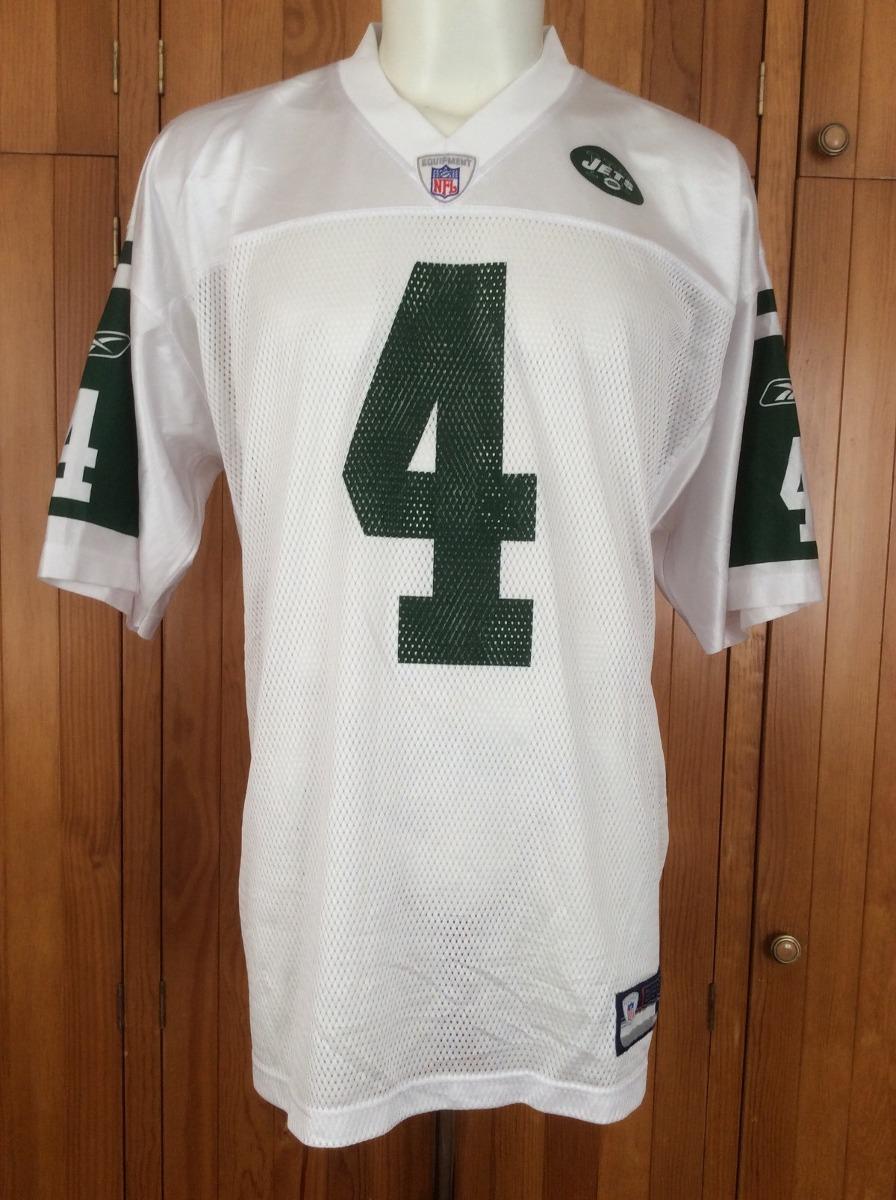 designer fashion e51cc b73e8 Jersey New York Jets #4 Brett Favre Visita Nfl Reebok 2008