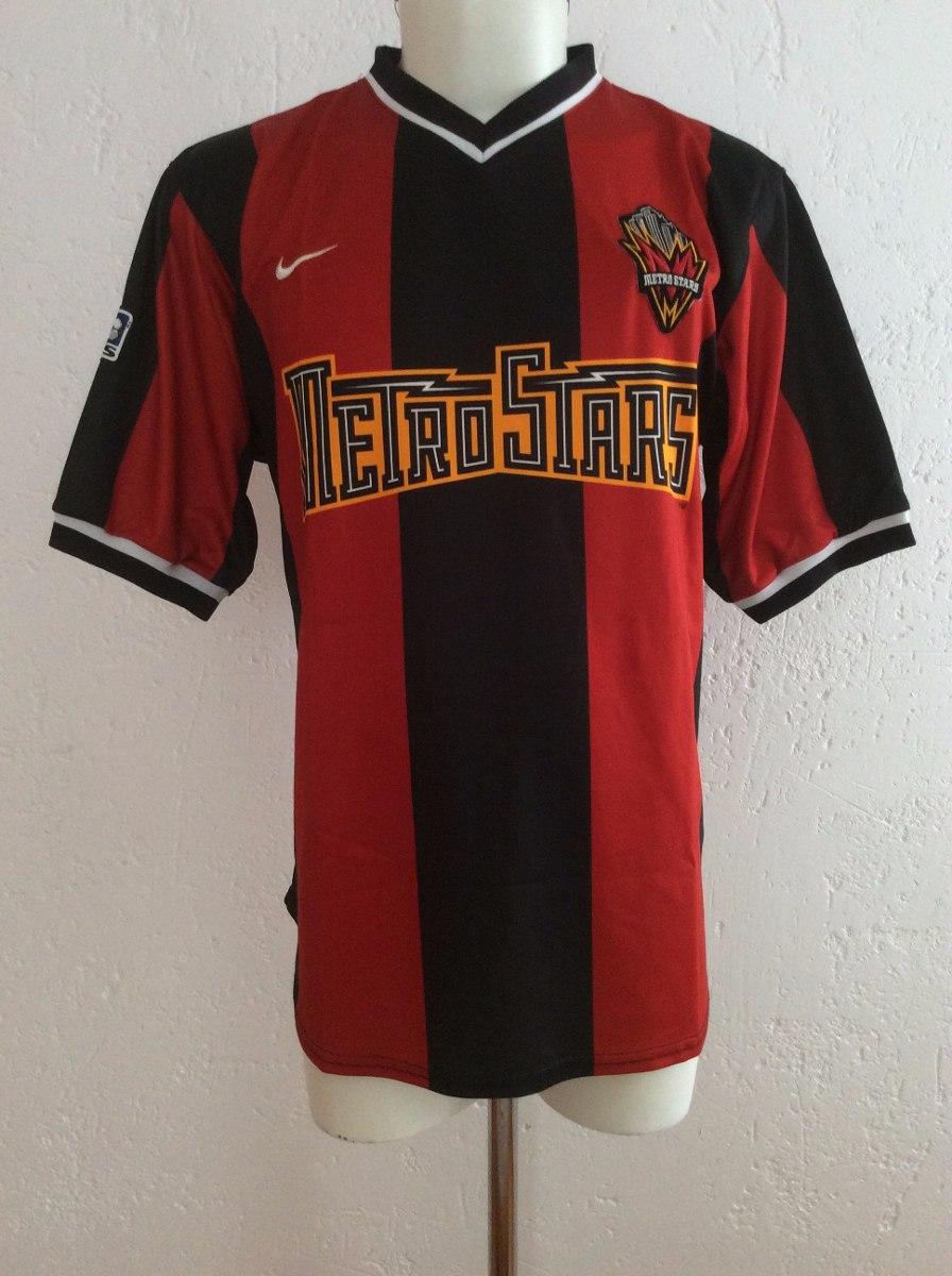 buy popular 91ad9 1d680 Jersey New York Metrostars Nike Mls Temporada 1999-2000