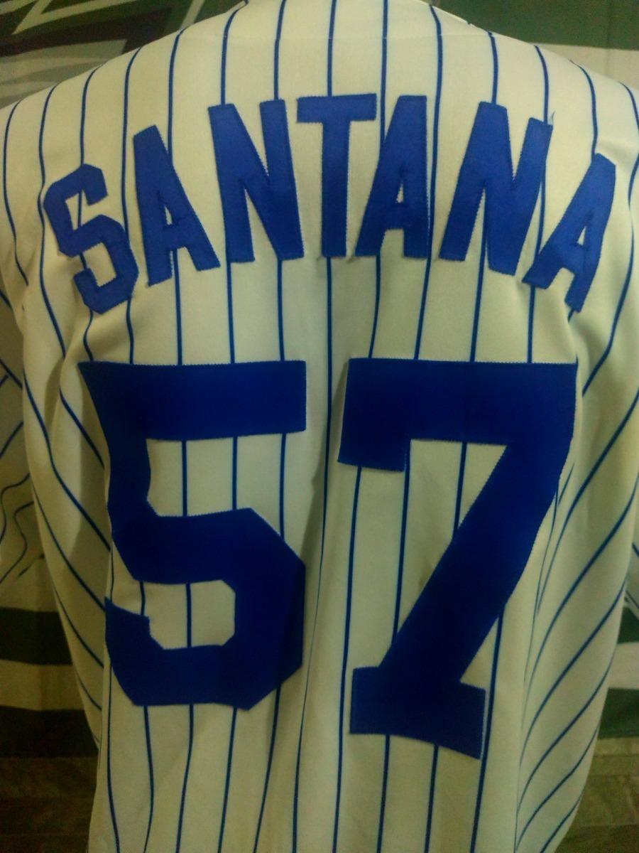 online store 132ec c6118 Jersey New York Mets, Majestic, #57 Johan Santana, Talla Xl