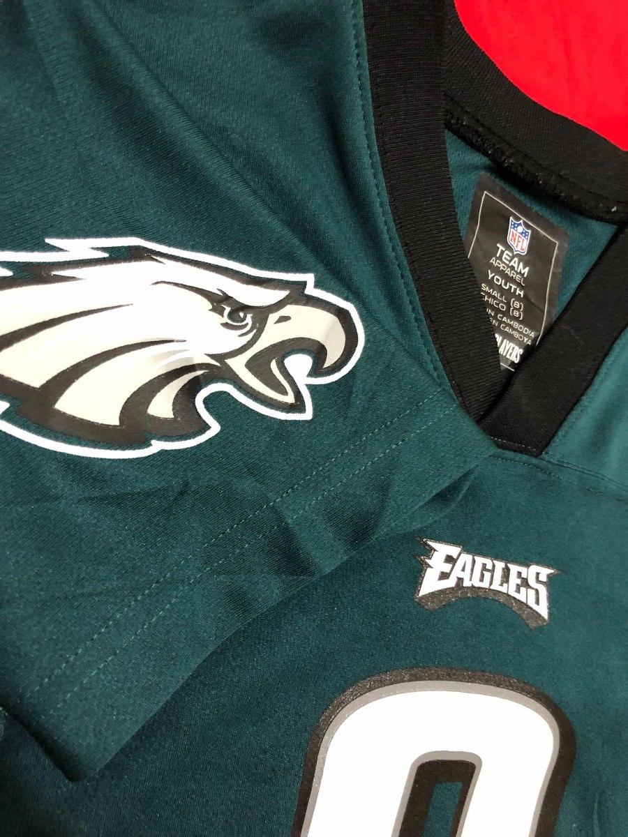 jersey nfl eagles philadelphia nick foles  9 nuevo para niño. Cargando zoom. 13748d0aba4