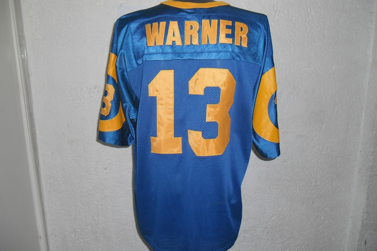 timeless design 11bb2 d1a0a Jersey Nfl Los Angeles Rams Kurt Warner De Epoca Champion