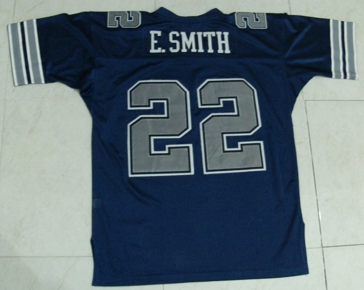 timeless design 2f36e 992c0 Jersey Nfl, Mediano Adulto E. Smith. Cowboys #22, M & N 1992 - $ 1,500.00
