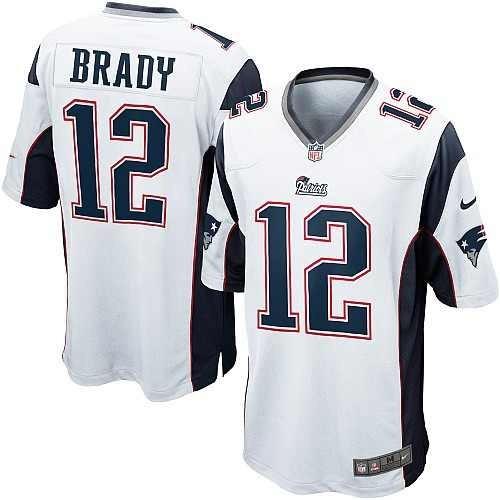 d098141235d6c Jersey Nfl Nike Tom Brady  12 Patriotas Nueva Inglaterra ...