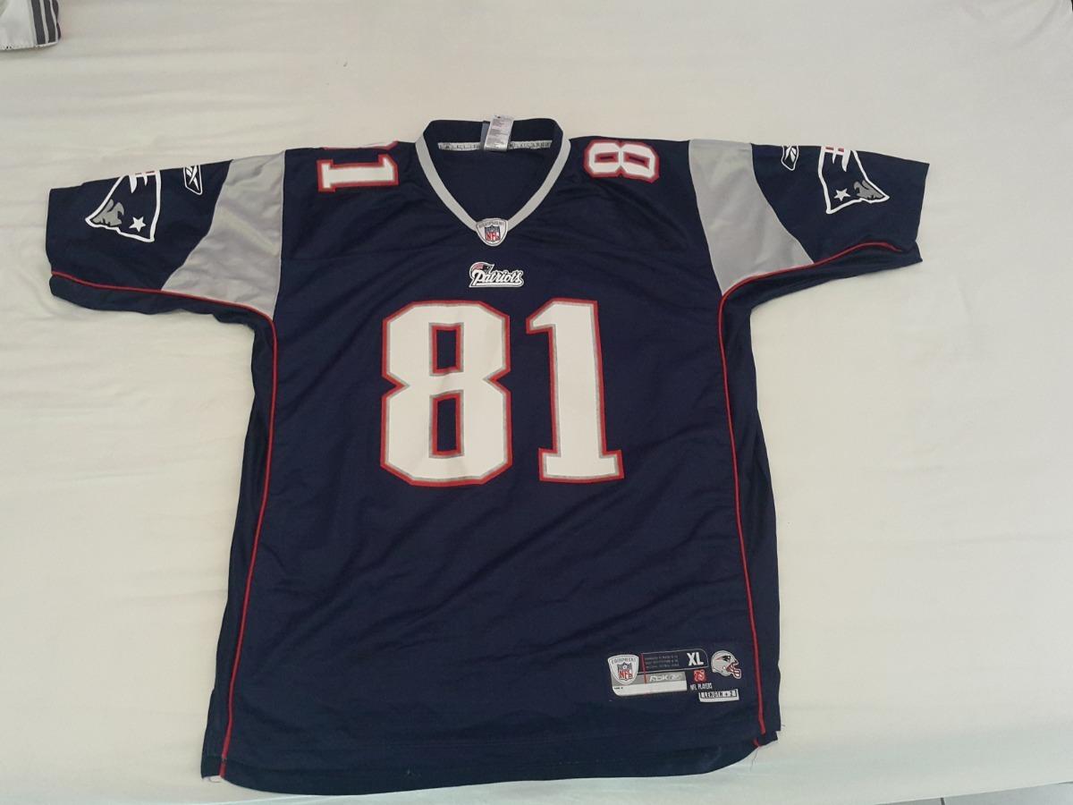 check out 11958 d2c2a Jersey Nfl Patriots Reebok Randy Moss Retro #81 Talla #xl - $ 539.00