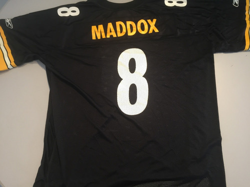 jersey nfl pittsburgh steelers maddox  2xl 6