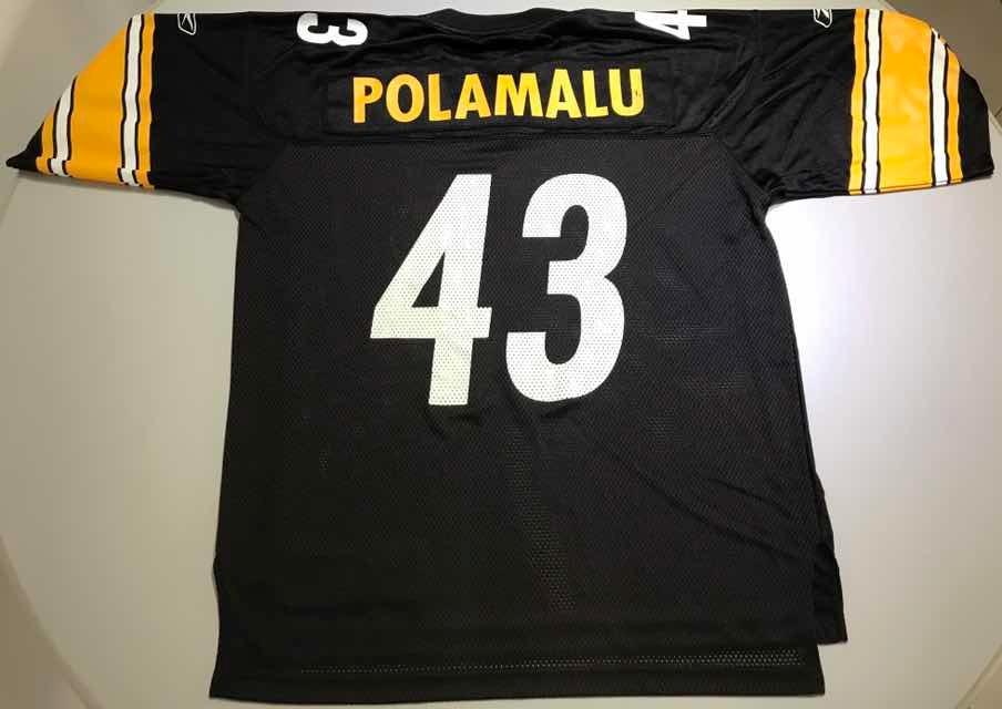 wholesale dealer 8c252 7ee27 Jersey Nfl Pittsburgh Steelers Polamalu L 19 - $ 450.00