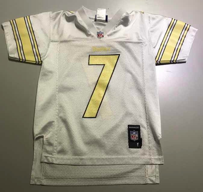 check out 56b14 cd819 Jersey Nfl Pittsburgh Steelers Rotlisberger S Boys 43 - $ 500.00