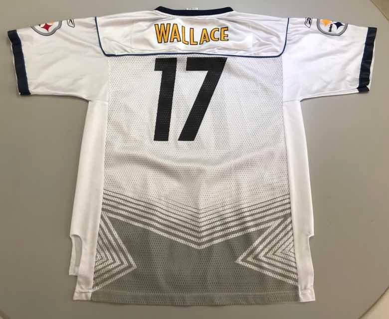 timeless design 8534b 0a2e9 Jersey Nfl Pittsburgh Steelers Wallace Xl Boys 36