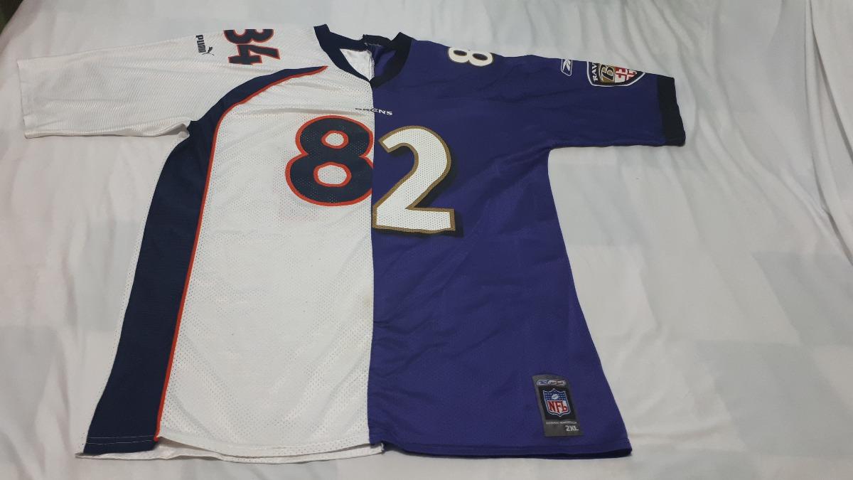 low priced 1f05b 2dc55 Jersey Nfl Reebok Puma Shannon Sharpe Broncos Ravens Xxl - $ 340.00