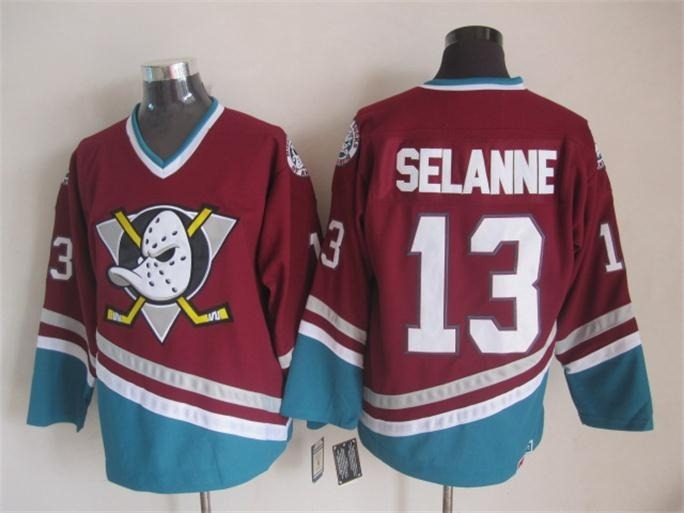 af35ac5656934 Jersey Nhl Hockey Anaheim Mighty Ducks Super Patos Vários - R  159 ...