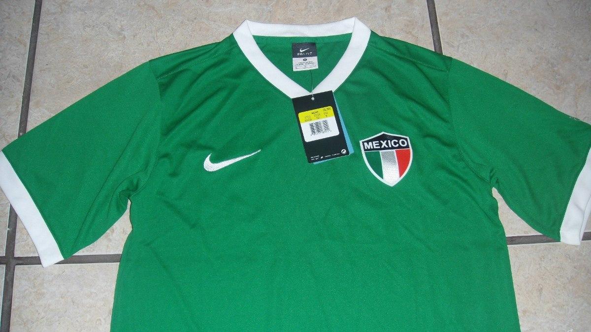 e4b46f0796f4b Jersey Nike 100% Original Seleccion Mexicana De Futbol -   299.00 en ...