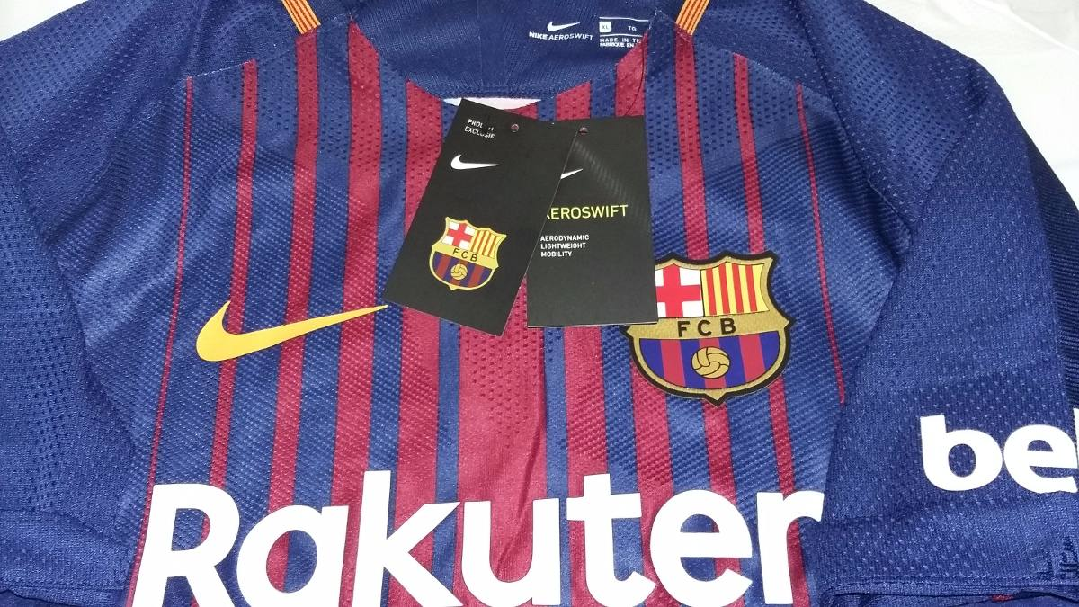 Jersey Nike Aeroswift Barcelona 17-18 Player Version -   560.00 en ... 2f8cb96aa364c