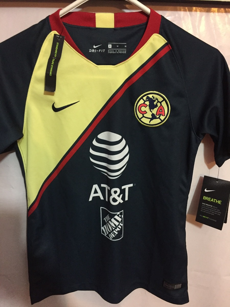 super popular 1ee1b 57026 Jersey Nike Aguilas Del America 100%original 2018-2019 Niño