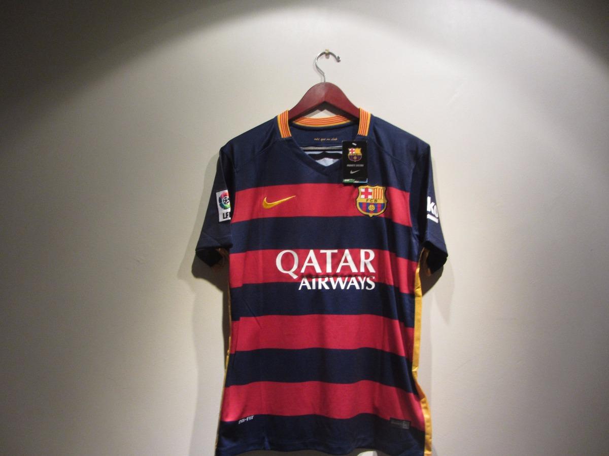 Jersey Nike Barcelona Local Suarez Lfp 15-16 -   649.99 en Mercado Libre fc742e0d0fe