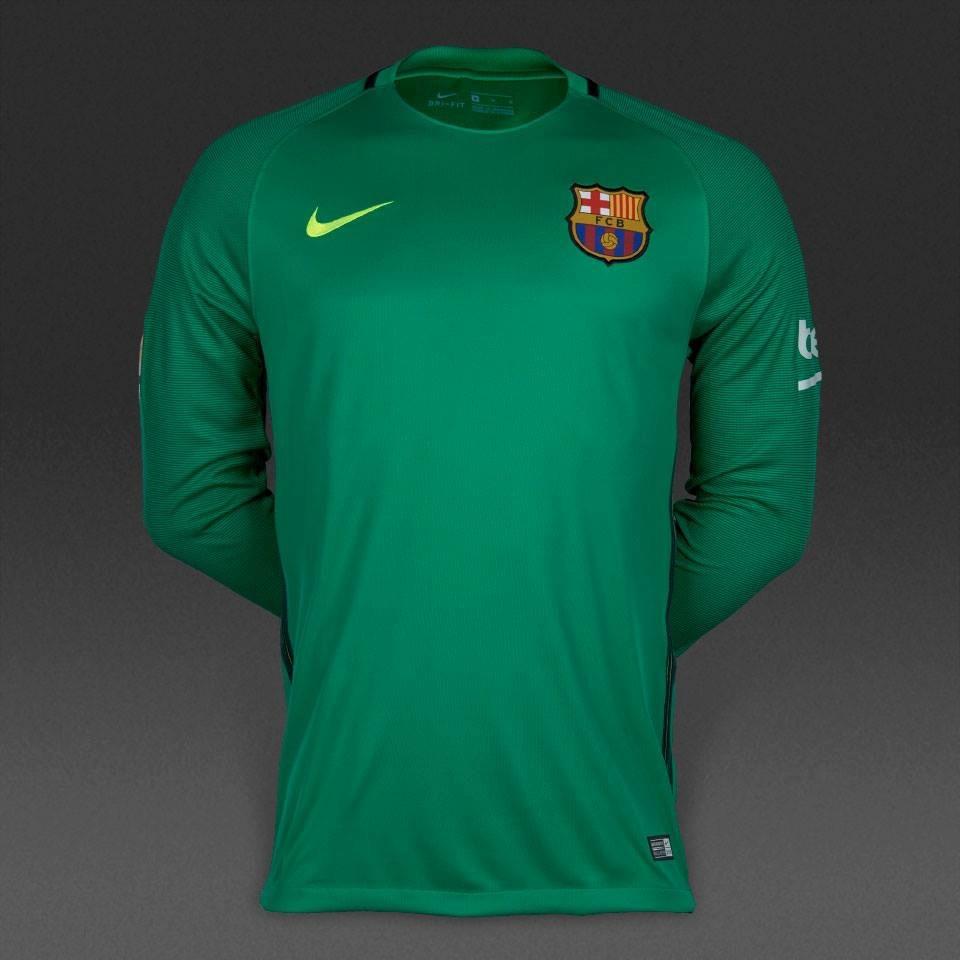 458d5ab15 jersey nike barcelona portero 2016-17 c  num original 100%. Cargando zoom.