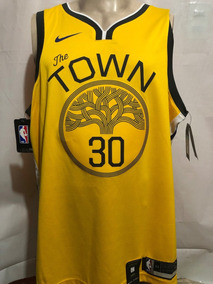 pretty nice b5513 1f7c7 Jersey Nike Basquetbol Golden State Warriors Town 100% Original Stephen  Curry
