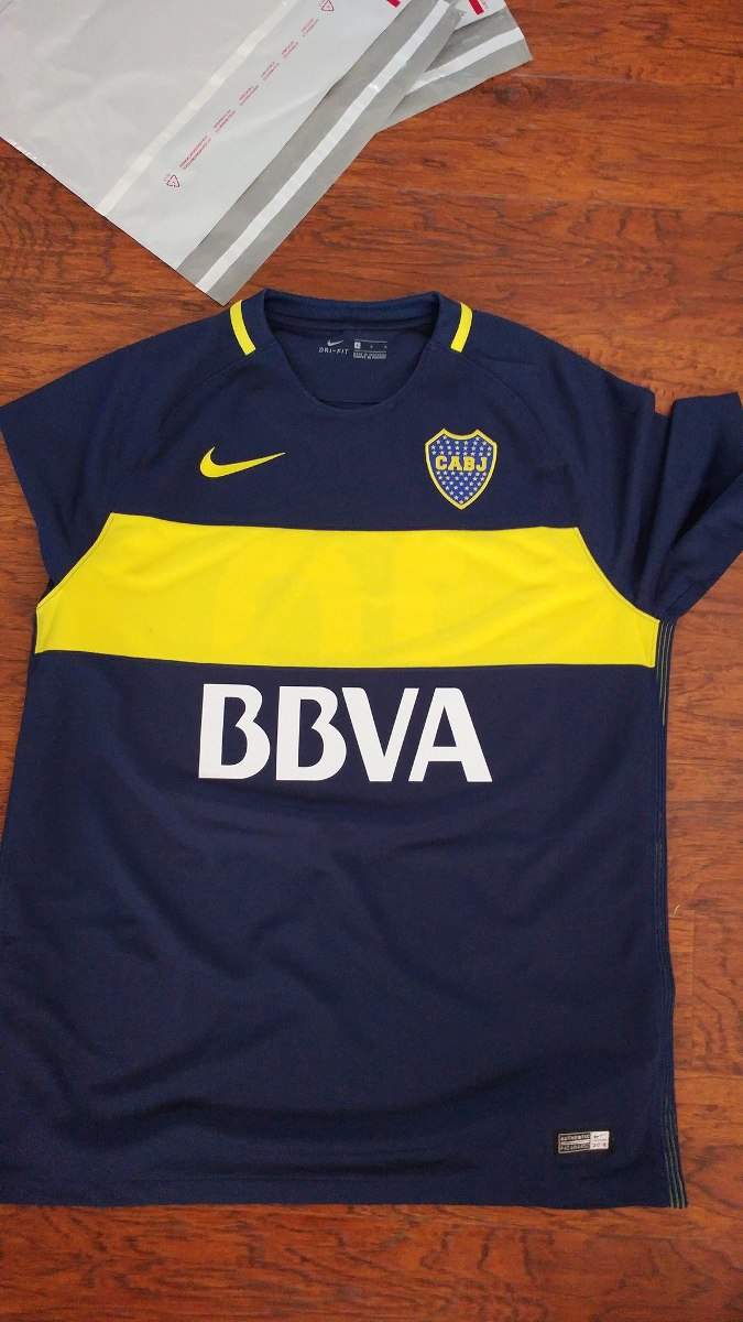 pretty nice 2042a b4f45 Jersey Nike Boca Juniors 16-17 Local O Visita Original