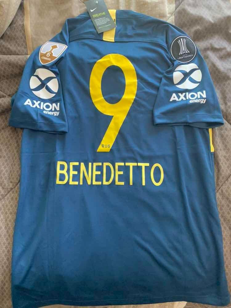 reputable site f0776 7c50a Jersey Nike Boca Juniors Benedetto Libertadores