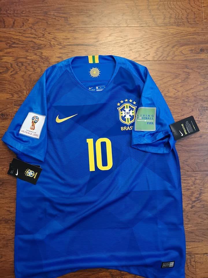 brand new c6792 bcb53 Jersey Nike Brazil Brasil Visita Rusia 2018 Neymar Original