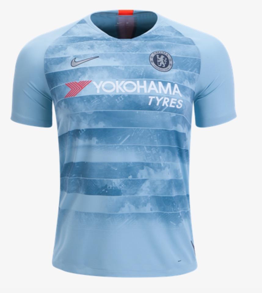 factory price cb733 12386 Jersey Nike Chelsea Tercera 2018-19 Original C/num