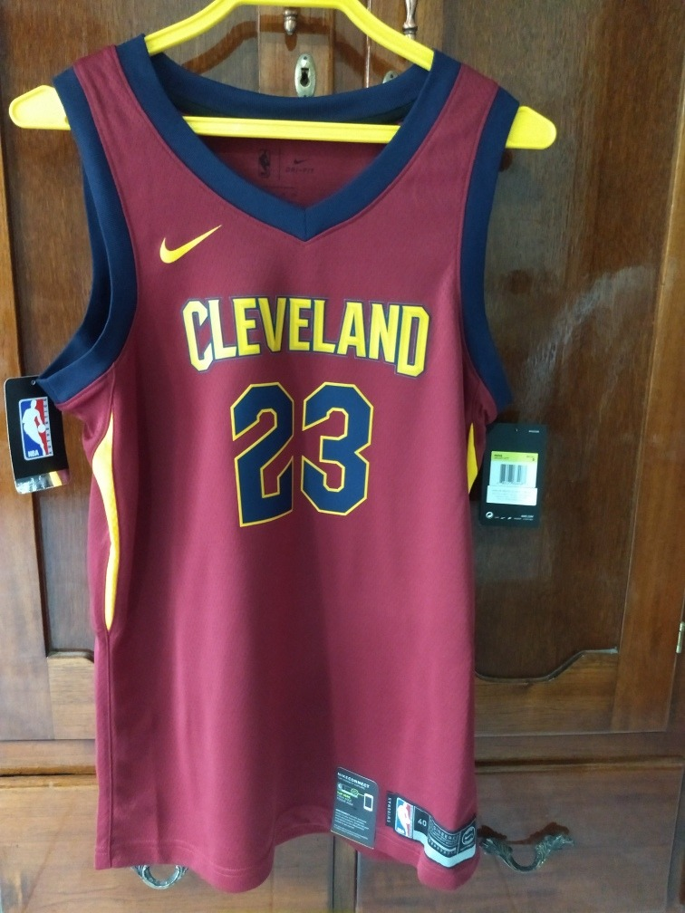 the best attitude 0eb75 beceb Jersey Nike Cleveland Cavaliers #23 Lebron James
