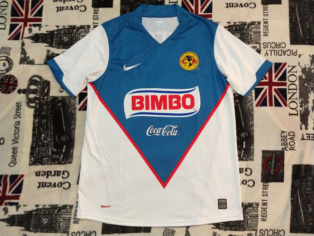 another chance 0ba40 b7bd7 Jersey Nike Club America 2010 Blanca Interliga