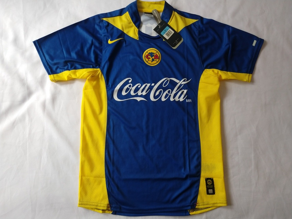 the latest 3041e 76362 Jersey Nike Club America Campeón 2005-2006 Visita Azul Nuevo
