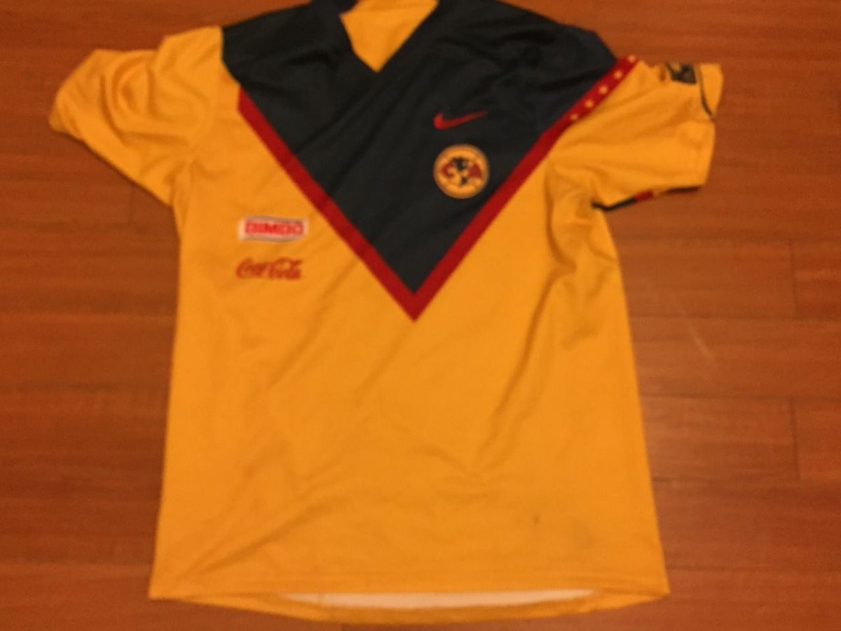 best loved 4b3c6 ec23f Jersey Nike Club America Versión Jugador 2006 90 Aniversario