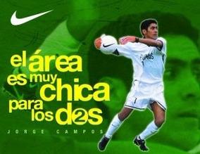 e7ef6b1bab8 Jersey Pumas Nike Jorge Campos - Jerseys de Fútbol en Mercado Libre México
