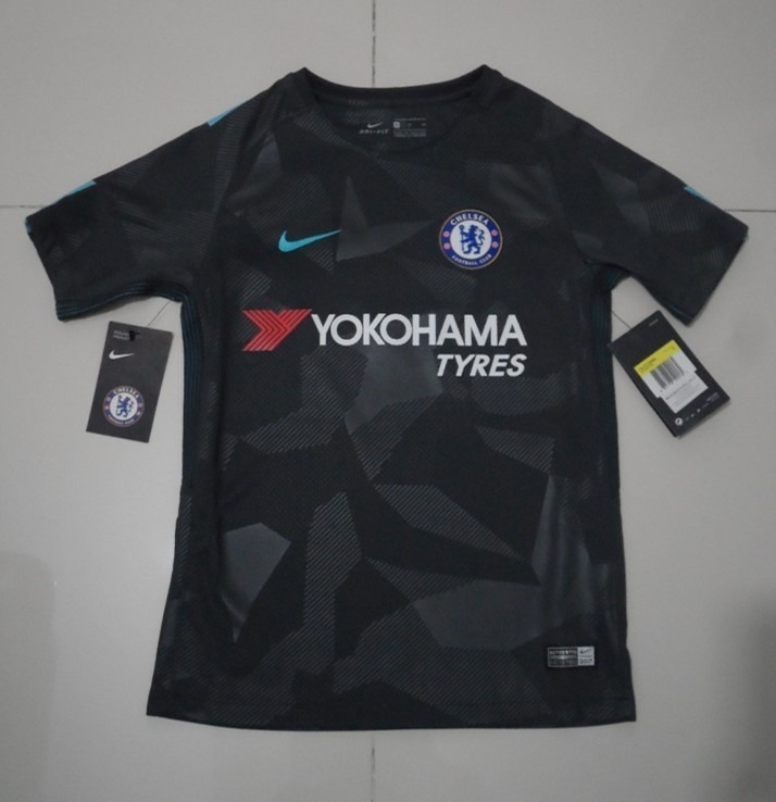 premium selection 62815 25a44 Jersey Nike Del Chelsea Original 3er Kit Para Niño 17-18