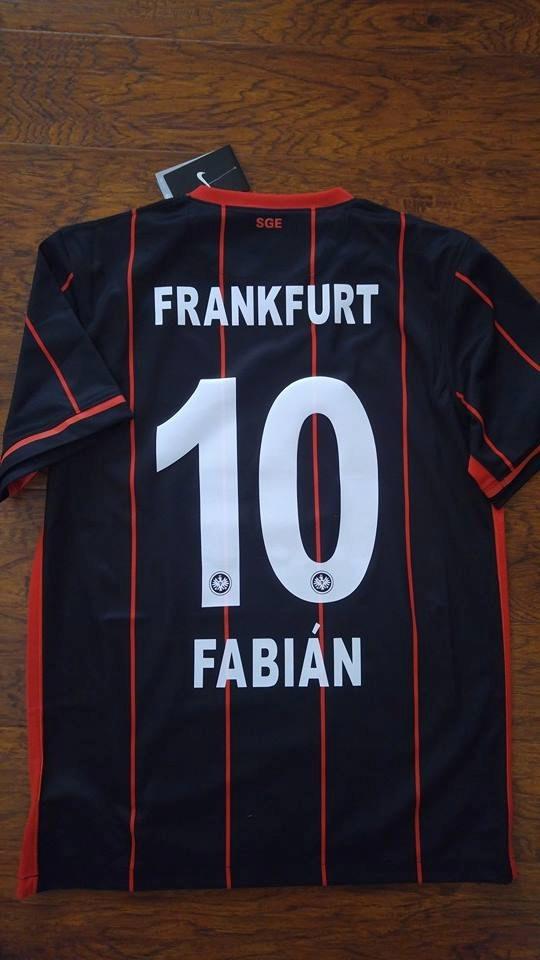 Jersey Nike Eintracht Frankfurt 2016 Marco Fabian Original ...