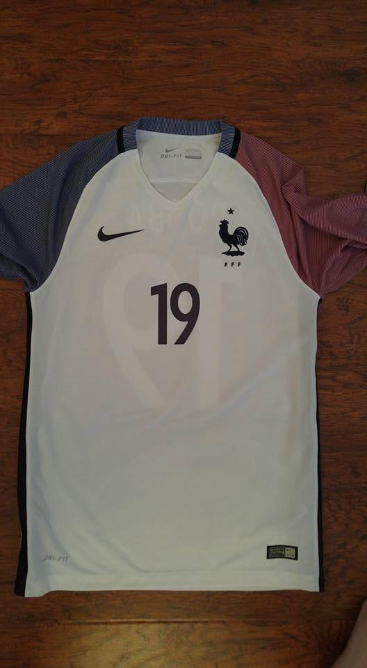 Jersey Nike Francia Local Visita Euro2016 Original C num ... 96b6814495ae9