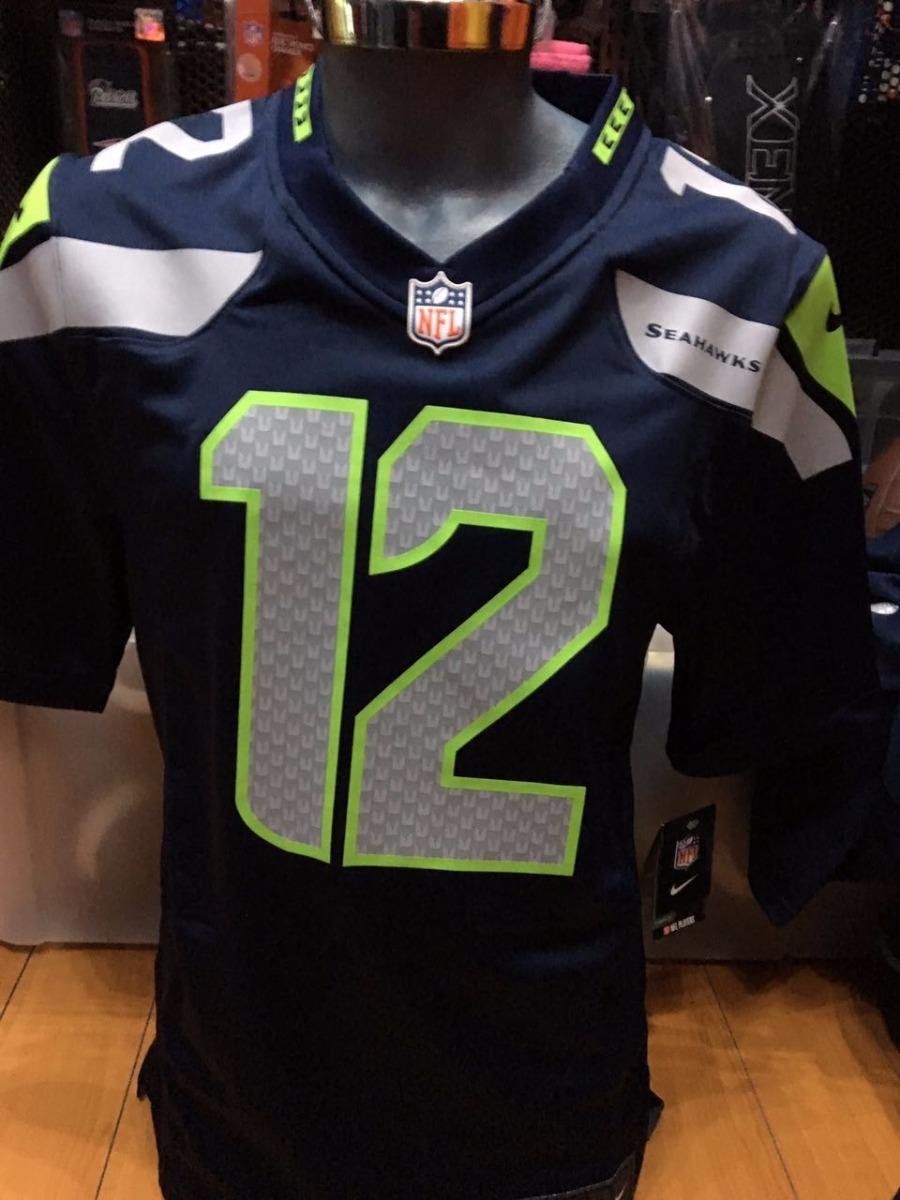 separation shoes db636 2424b Jersey Nike Hombre - Seattle Seahawks Fan