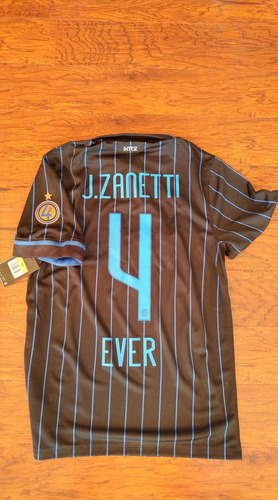 jersey nike inter milan local 2014-15 despedida zanetti
