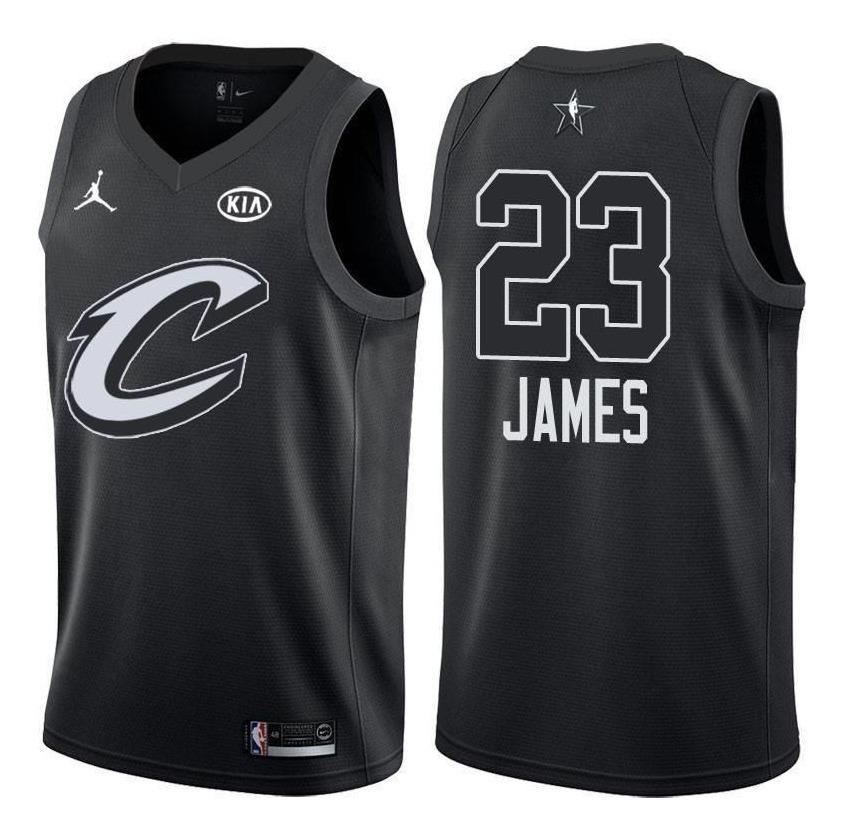sale retailer d0a24 91776 Jersey Nike Jordan Lebron James Cavaliers Lakers All Star 23