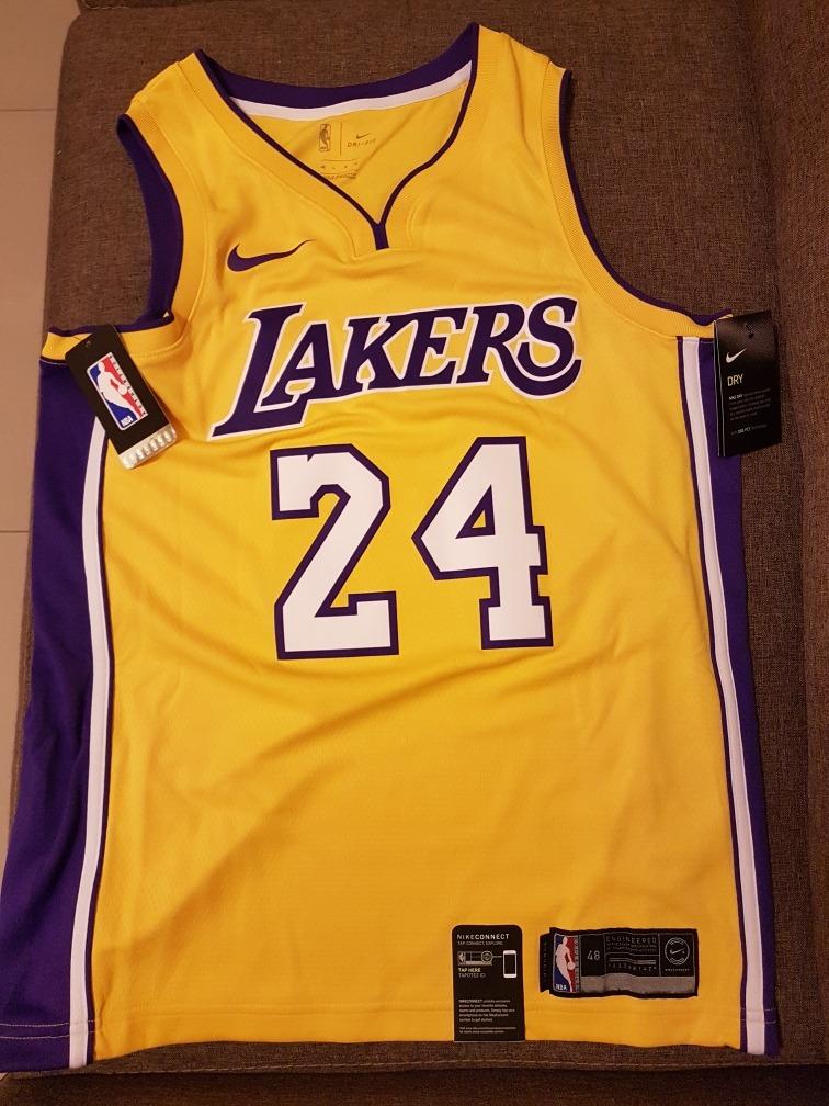 outlet store 61952 d4b69 Jersey Nike Kobe Bryant Medida L (48 Jersey) Original Nueva