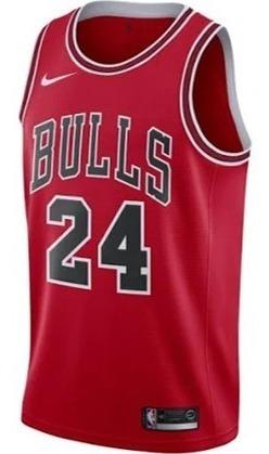 best service 4b07b fff2a Jersey Nike Lauri Markkanen Chicago Bulls Swingman Original