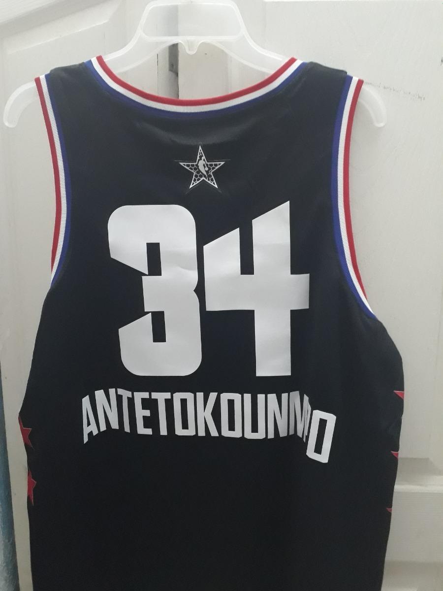 new arrival f2a0a 4b78a Jersey Nike Nba Giannis Antetokoun All Star 2019 Talla L(48
