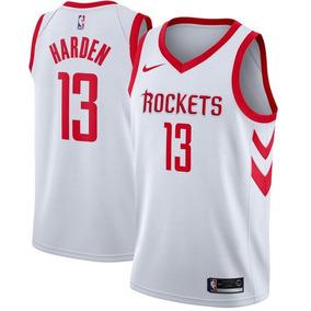 382e9e8b531 Jersey Nike Nba Houston Rockets James Harden 2019 Original!