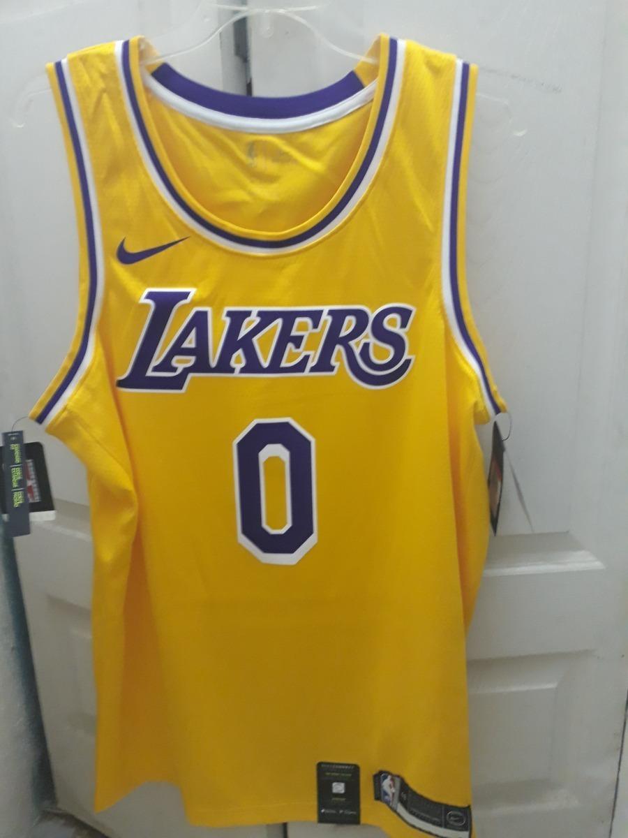 super popular 644c5 56c63 Jersey Nike Nba Kyle Kuzma Swingman Lakers Talla L(48)
