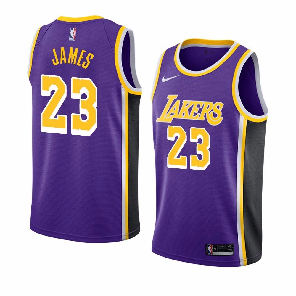 pretty nice 410c7 5dafd Jersey Nike Nba L. A. Lakers Lebron James 2019 Original