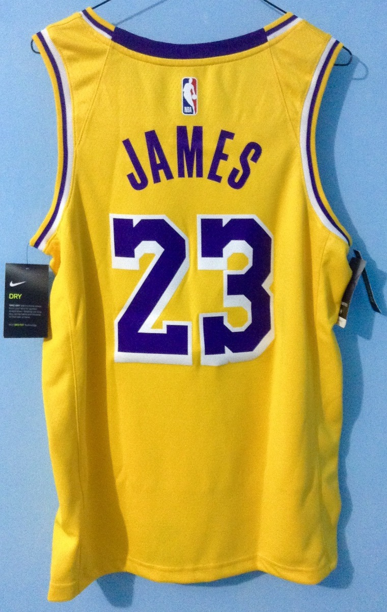 official photos b85dd 65ec6 Jersey Nike Nba L. A. Lakers Lebron James Original 2018