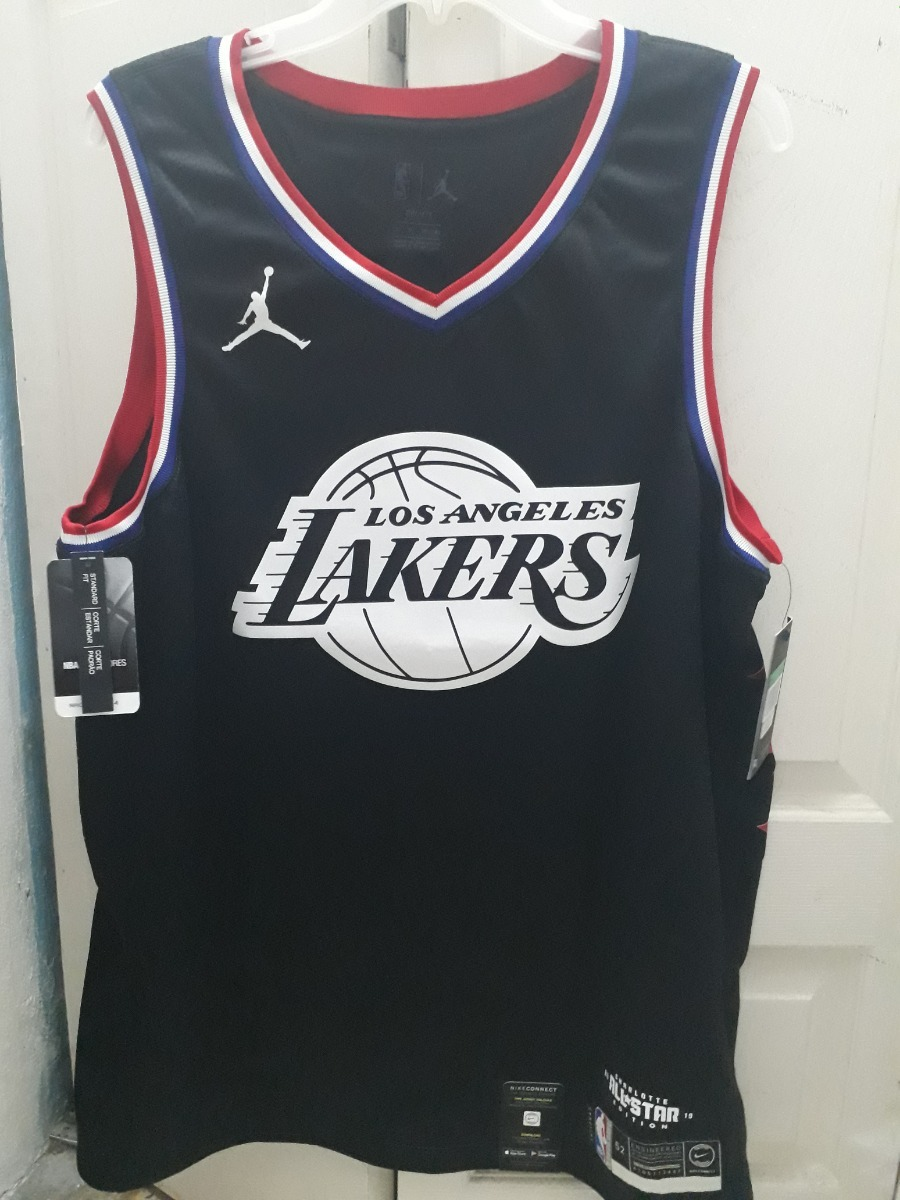 huge selection of 1333f 05a22 Jersey Nike Nba Lebron James Lakers All Star 2019 Talla Xl52