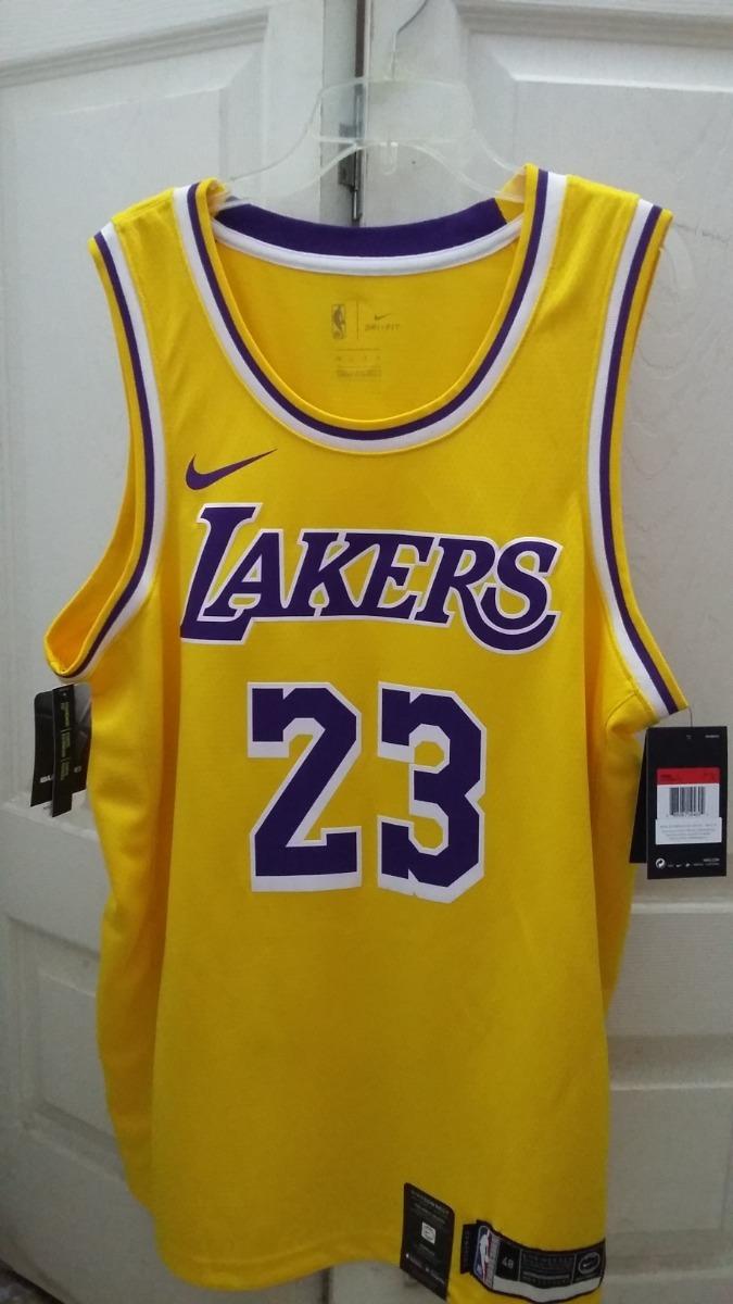 reputable site 61cf1 f2aa7 Jersey Nike Nba Lebron James Swingman Lakers Talla M (44)